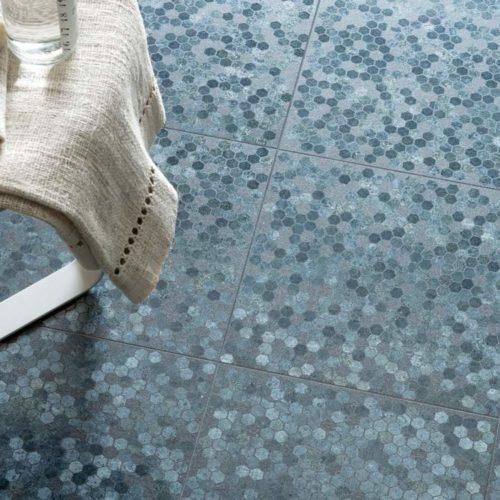 Fliesen für den Aussenbereich mit Mosaik