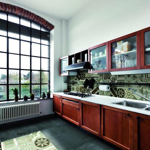 Fließen Hartlmaier Fließen in Zementoptik für die Küche