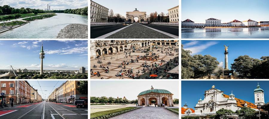 Fliesen in München sehen in jedem Stadtviertel unterschiedlich aus –wir zeigen Ihnen, welche Fliese wo zu verorten ist.