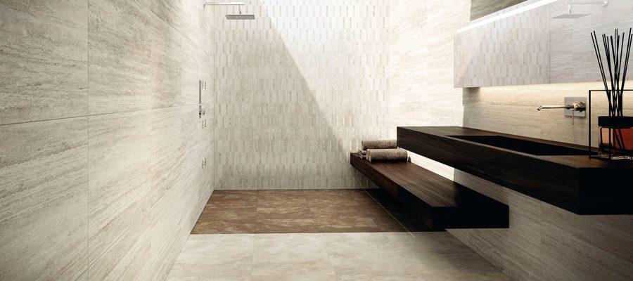 Floor-Gres-Bodensysteme ermöglichen z.B. eine völlig neue Raumaufteilung. Die Platten aus Feinsteinzeug können leicht wiederverwendet werden und sind wartungsfreundlich.